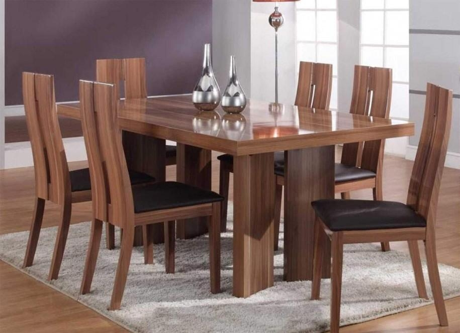 Dining Elegant Dining Room Tables Oval Dining Table As Solid Wood In Most Recently Released Wooden Dining Sets (Image 5 of 20)