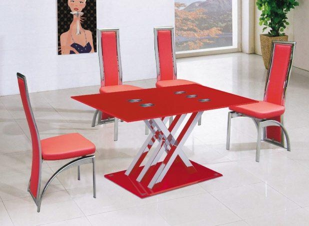 Dining Ideas: Red Dining Table Inspirations (Image 7 of 20)