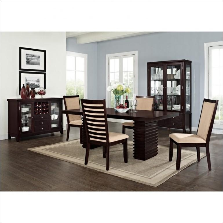 Dining Room : Amazing Cheap Dining Room Furniture Sets Round Inside Most Up To Date White Dining Suites (Image 8 of 20)