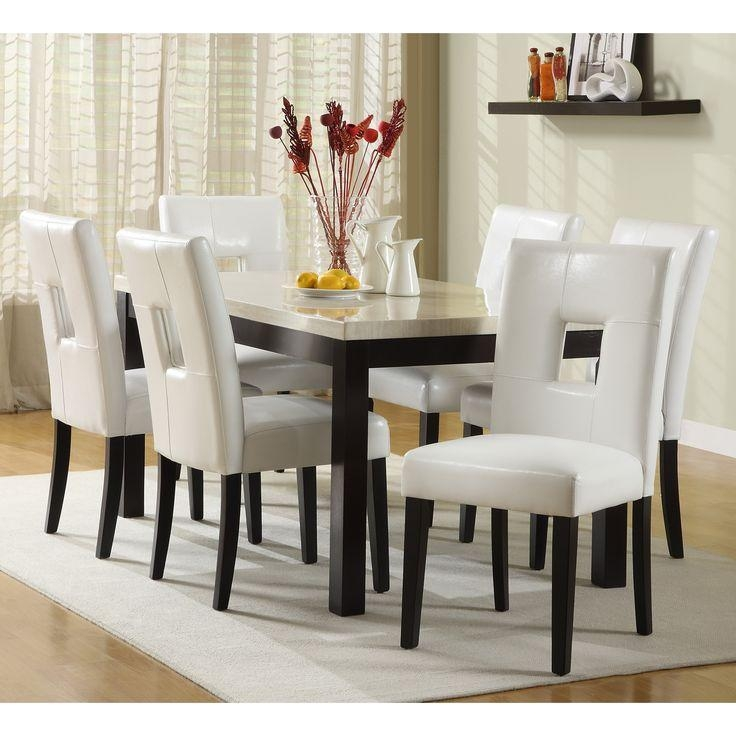 Dining Room: Astounding White Dining Sets White Round Dining Table With Most Recently Released White Dining Tables Sets (Image 5 of 20)