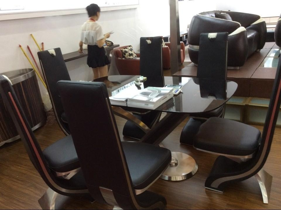 Dining Room Best 25 Chair Ideas On Pinterest Modern Chairs Genuine Pertaining To Real Leather Dining Chairs (View 20 of 20)