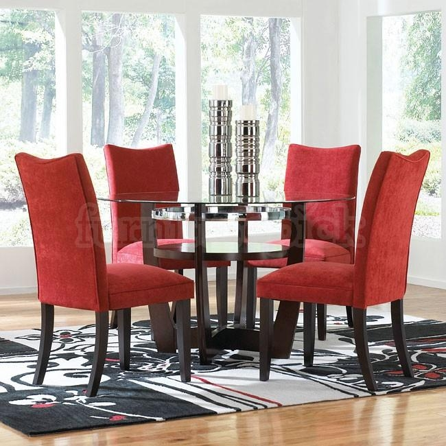 Dining Room Chairs Red Photo Of Exemplary Red Dining Room Chairs In 2017 Red Dining Chairs (View 18 of 20)