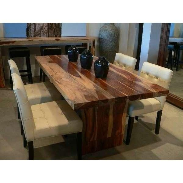 Dining Room Cool Dining Room Table Sets Folding Dining Table On Throughout 2017 Solid Wood Dining Tables (Image 7 of 20)