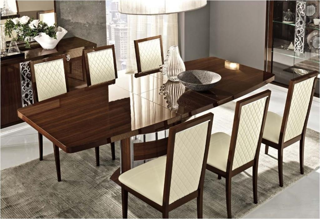 Dining Room Cool Dining Table Set Diy Dining Table On High Gloss For 2018 Hi Gloss Dining Tables (Image 8 of 20)