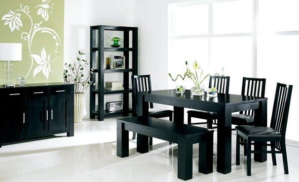 Dining Room Cool Ikea Dining Table Industrial Dining Table On Inside Best And Newest Black Dining Tables (Image 9 of 20)