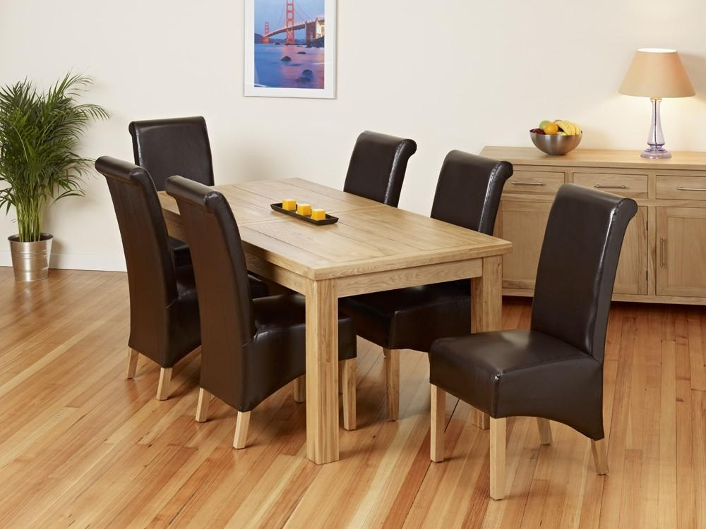 Dining Room Extendable Dining Table And Chairs Excellent For Most Current Extending Oak Dining Tables And Chairs (Image 9 of 20)