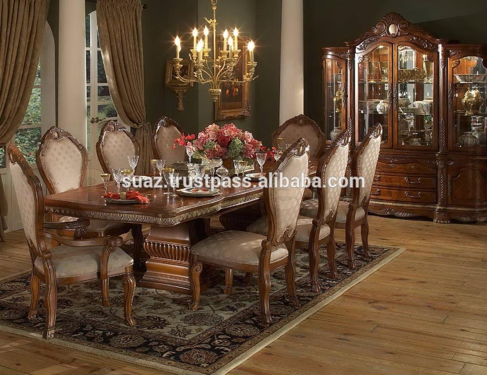 Dining Room Furniture, Dining Room Furniture Suppliers And Inside Indian Dining Room Furniture (View 10 of 20)