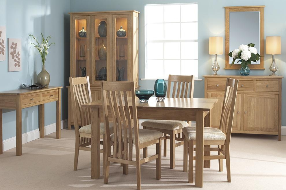 Dining Room Ideas: Cool Oak Dining Room Set For Cheap Round Oak Pertaining To Newest Cheap Oak Dining Sets (Image 8 of 20)