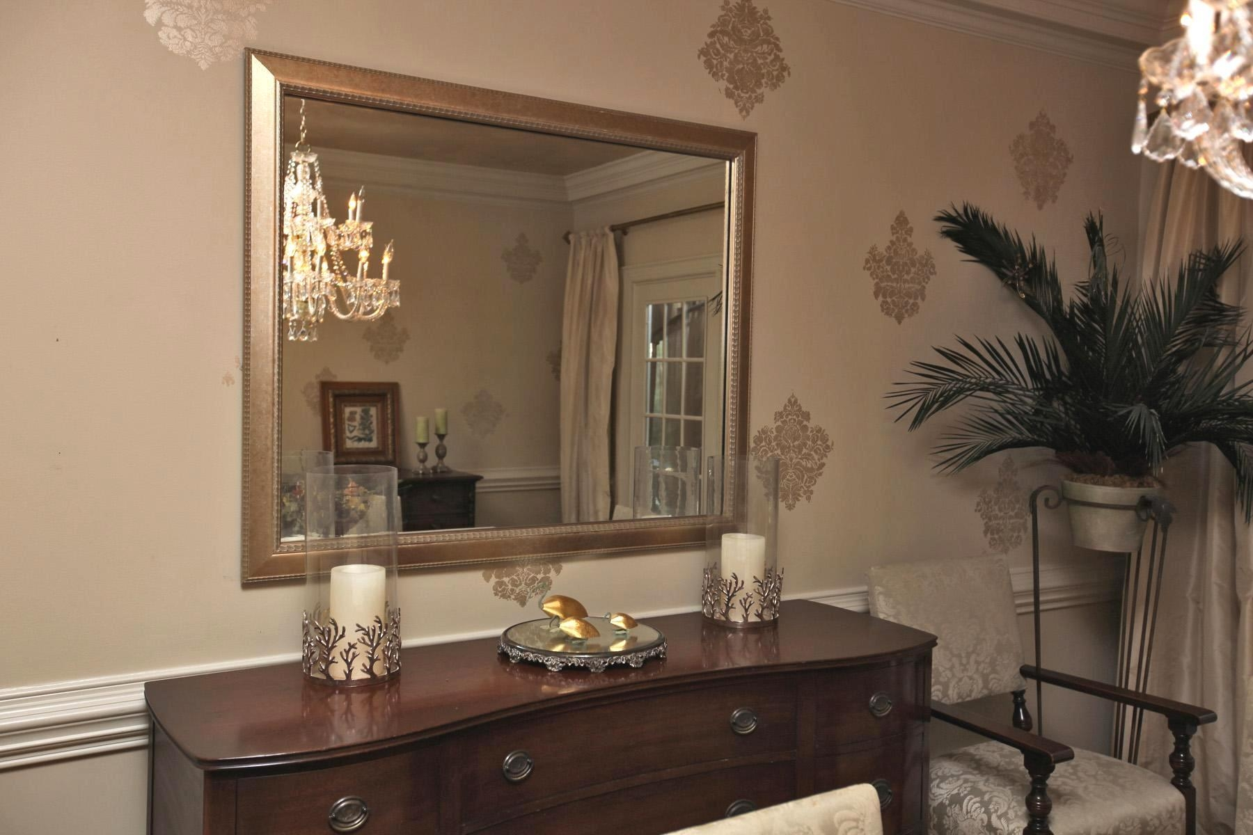 Dining Room : Mirrormate Frames Dining Room Mirrors Full Length Pertaining To Dining Mirrors (Image 10 of 20)