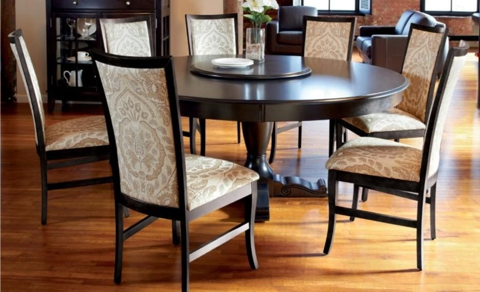 Dining Room Stylist Dining Room Design With Dark Brown Wooden Regarding 2017 Dark Brown Wood Dining Tables (Image 9 of 20)