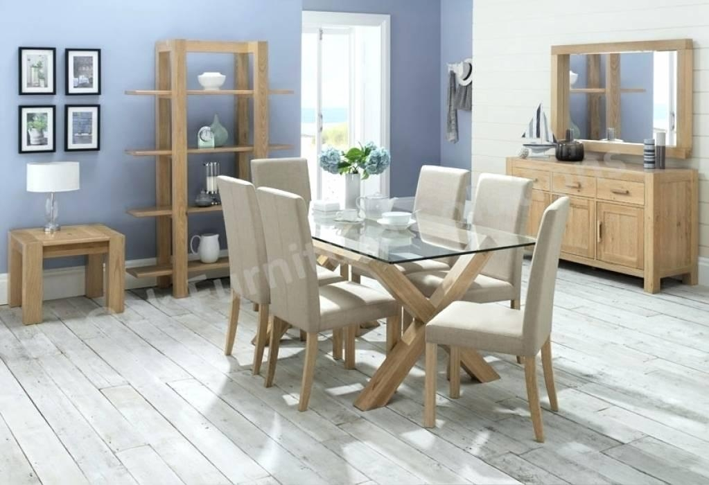 Nice 20 Photos Glass Dining Tables With 6 Chairs | Dining Room Ideas