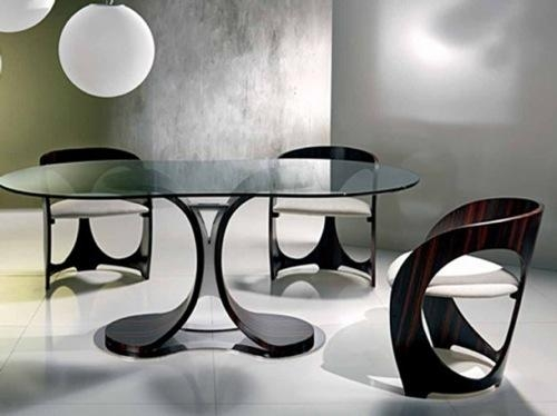 Dining Room Table And Chairs Pertaining To Newest Stylish Dining Chairs (Image 11 of 20)