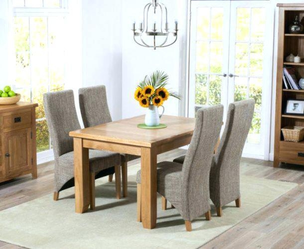 Dining Room Table With Fabric Chairs – Mitventures (Image 12 of 20)