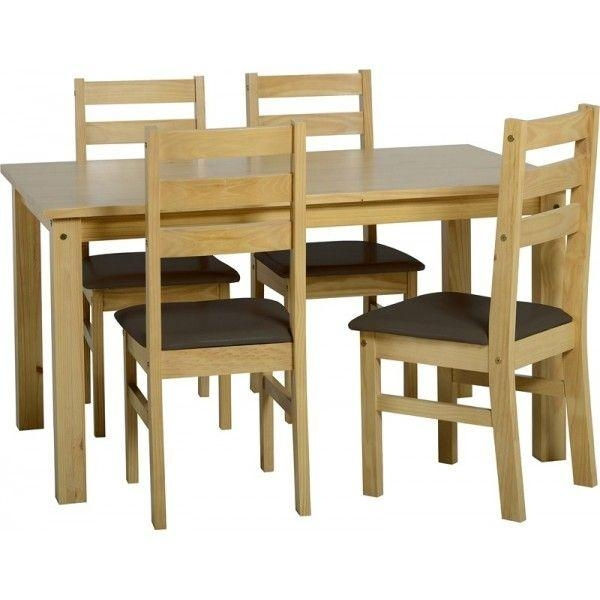 Dining Room Tables 5 Piece Set Walmart Cheap Table Sets Under 200 Inside Current Cheap Dining Sets (Image 9 of 20)