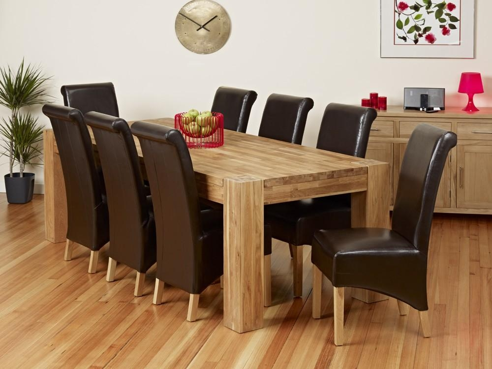 Featured Image of Oak Dining Tables 8 Chairs