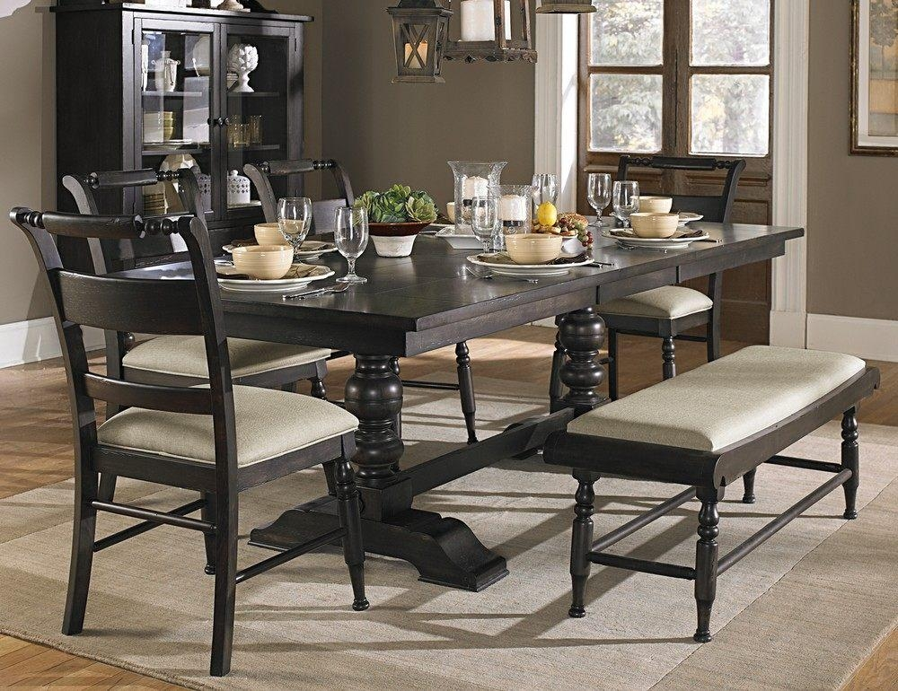 Dining Room Tables Simple Glass Dining Table Marble Dining Table Regarding Best And Newest Dark Dining Room Tables (Image 11 of 20)
