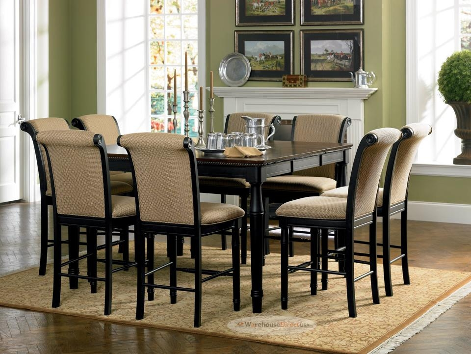 Dining Room Tables Square 8 Chairs #9714 Throughout Most Current Dining Tables For  (Image 11 of 20)
