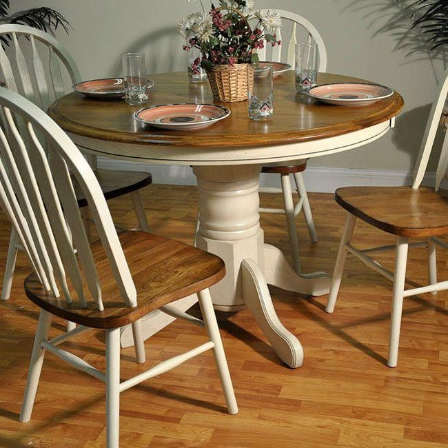 35 Best Images About Refinished Oak Tables On Pinterest: 20 Collection Of Round Oak Dining Tables And Chairs