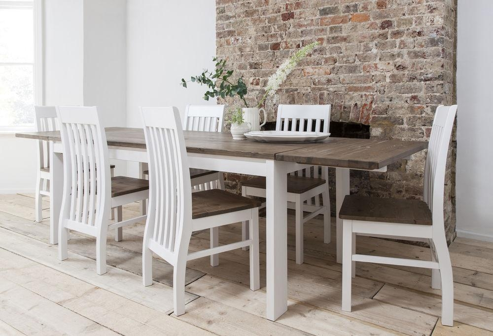 Dining Room White Table Chairs Glass Outdoor Upholstered Inside Best And Newest Extendable Dining Room Tables And Chairs (Image 9 of 20)