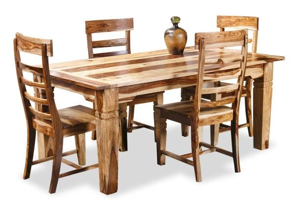 Dining Set « Bhavya Art And Crafts Intended For Most Up To Date Sheesham Wood Dining Chairs (Image 3 of 20)