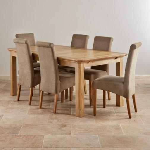 Dining Sets | Free Delivery | Oak Furniture Land For Best And Newest Oak Dining Tables And Chairs (Image 7 of 20)