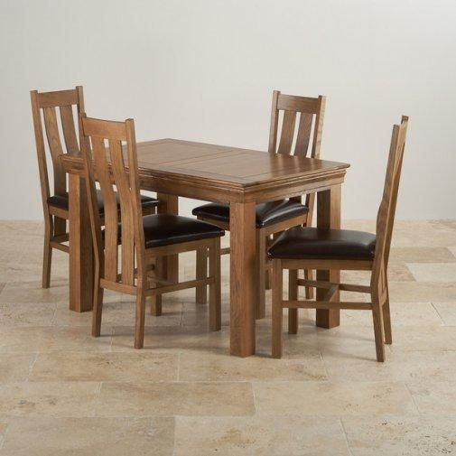 Dining Sets | Free Delivery | Oak Furniture Land Pertaining To Oak Dining Sets (Image 7 of 20)