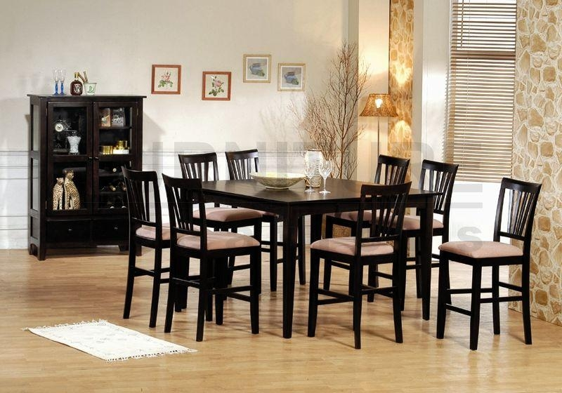 Dining Table 8 Chairs » Gallery Dining With Regard To Best And Newest Solid Oak Dining Tables And 8 Chairs (Image 11 of 20)