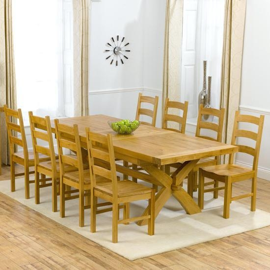 Dining Table And 8 Chairs – Mitventures (View 7 of 20)