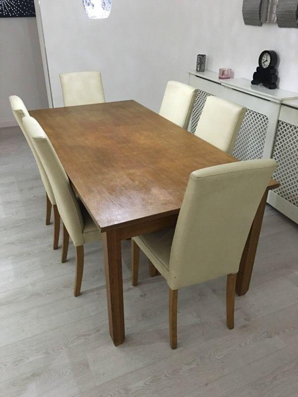 Dining Table And Chairs Next Hudson | In Watford, Hertfordshire Inside Latest Next Hudson Dining Tables (Image 10 of 20)