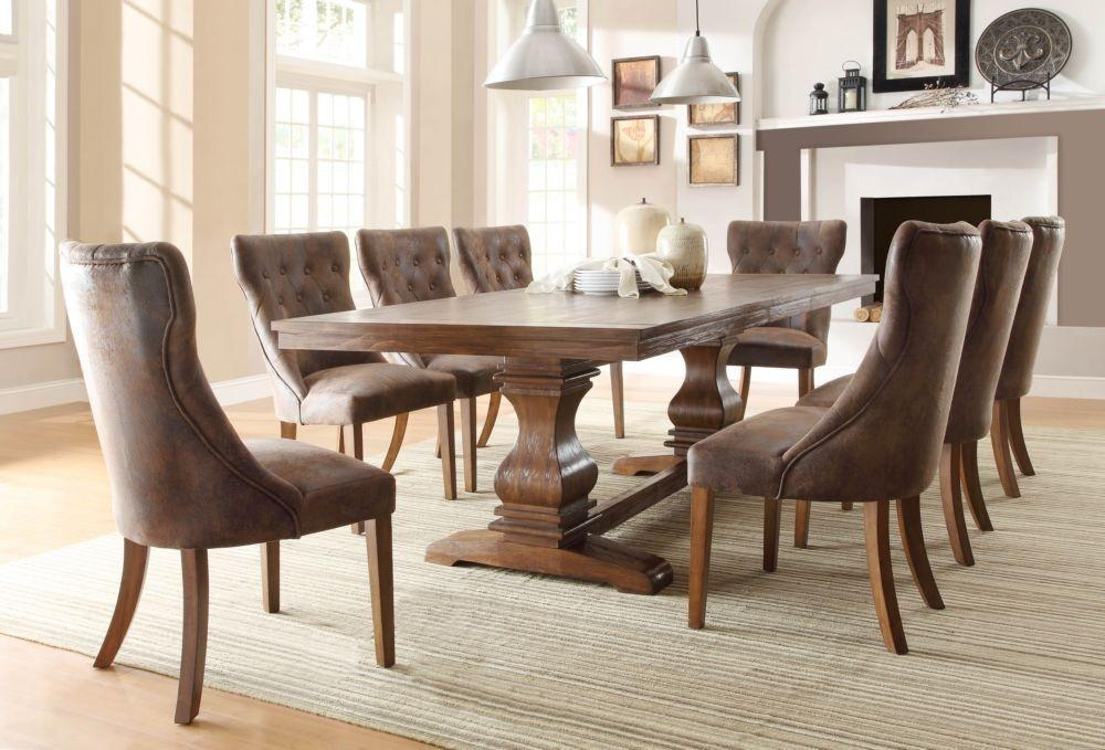 Dining Table And Fabric Chairs – Home Interior Inspiration Intended For Newest Dining Tables And Fabric Chairs (Image 14 of 20)