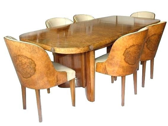 Dining Table ~ Art Deco Dining Table Ebay Ireland Furniture Uk Pertaining To Most Popular Ebay Dining Suites (Image 14 of 20)