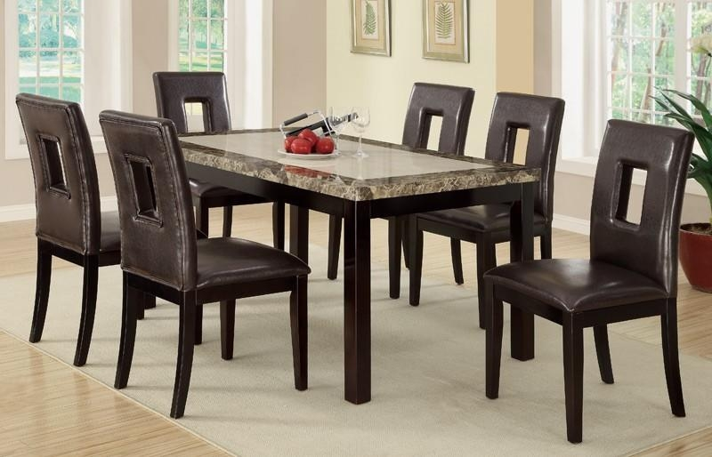 Dining Table, Dining Table With 6 Chairs | Pythonet Home Furniture With Newest 6 Chairs And Dining Tables (Image 13 of 20)