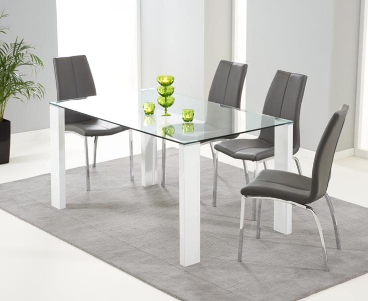 Dining Table Good Round Dining Table Wood Dining Table On Grey For Most Popular Grey Glass Dining Tables (View 16 of 20)