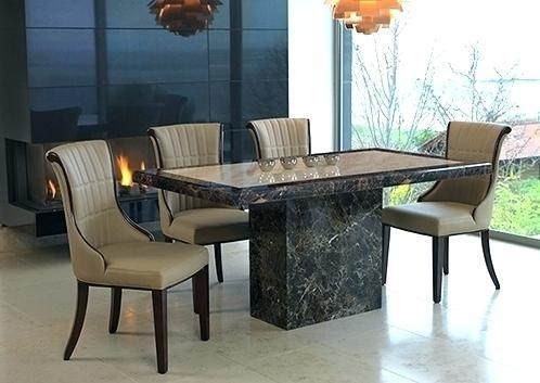 Dining Table ~ Marble Top Brass Legs Table Scs Dining Tables And With Current Scs Dining Tables (Image 7 of 20)