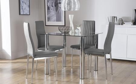 Dining Table Popular Dining Table Sets Glass Dining Room Table And With Most Popular Grey Glass Dining Tables (View 8 of 20)