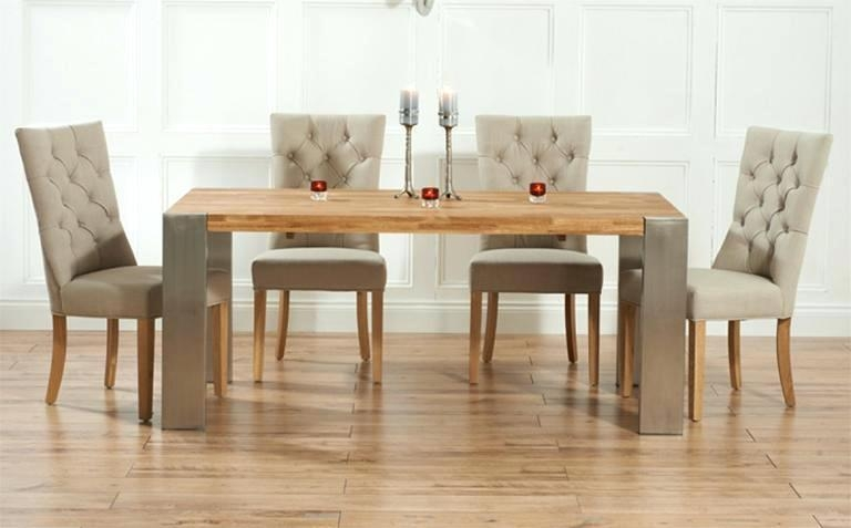 Dining Table ~ Round Extending Dining Table And Chairs Uk Kitchen With Most Recent Oak Extending Dining Tables And Chairs (Image 8 of 20)