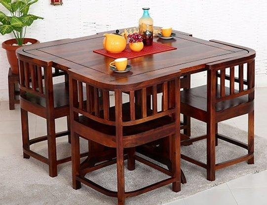 Dining Table Set Online – Buy Wooden Dining Table Sets @ 65% Off Within Newest Buy Dining Tables (Image 10 of 20)