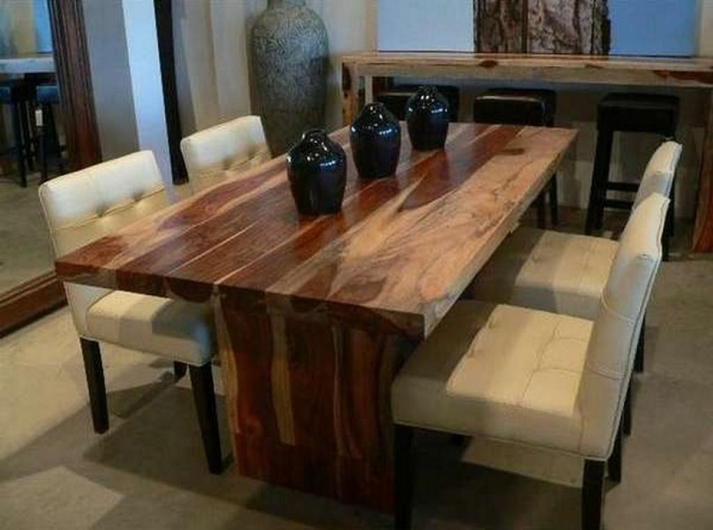 Dining Table, Solid Wood Dining Room Table | Pythonet Home Furniture Inside 2018 Solid Wood Dining Tables (Image 8 of 20)