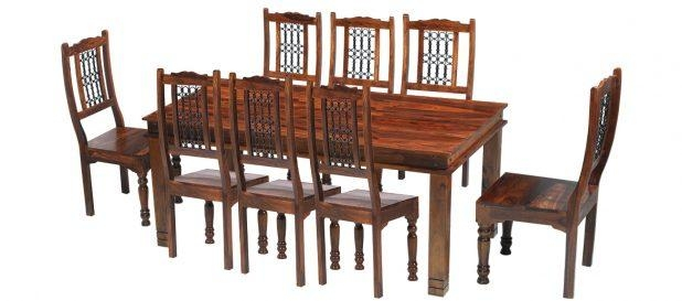 Dining Table : Zuwei Sheesham Dining Tableurban Ladder For Most Recent Sheesham Dining Tables 8 Chairs (Image 2 of 20)