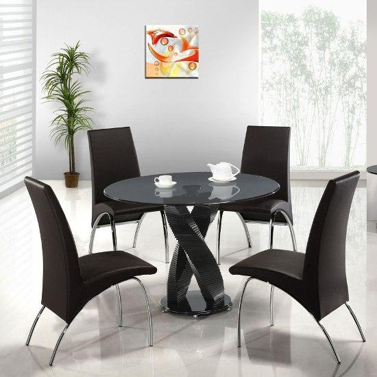 Dining Tables And 4 Chairs Round (View 13 of 20)