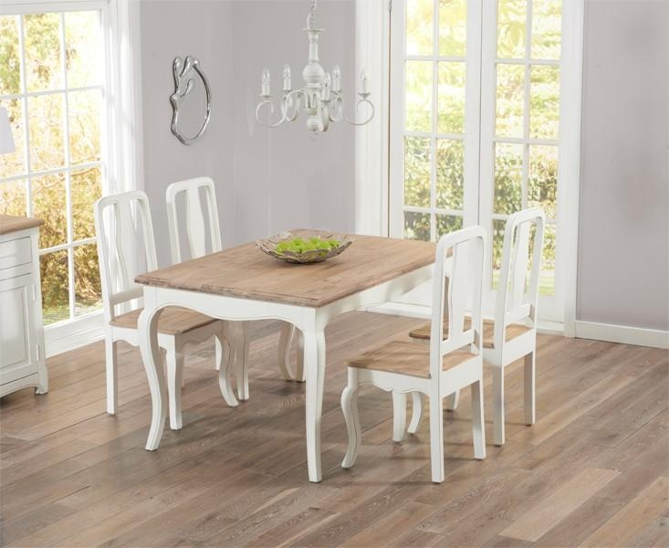 Dining Tables: Best Shabby Chic Dining Table Ideas Shabby Chic Pertaining To Current Shabby Chic Dining Sets (Image 12 of 20)