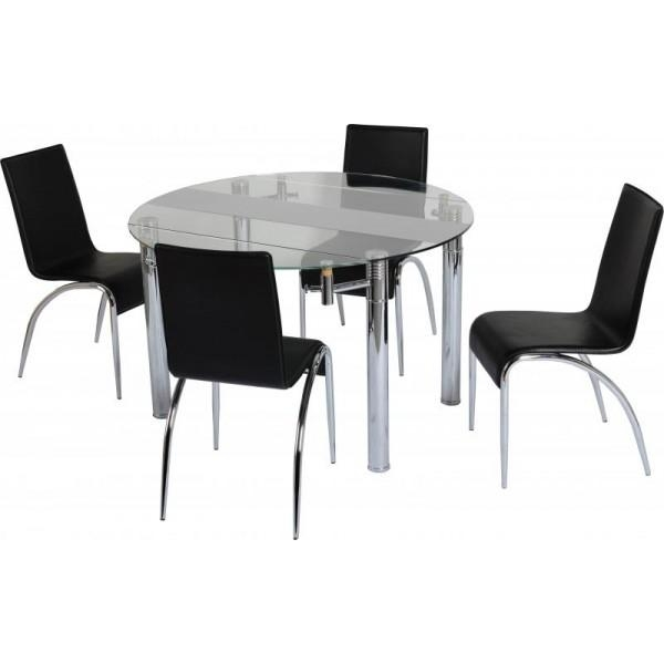 Cheap Dining Table With Chairs: 20 Best Collection Of Small Extending Dining Tables And 4