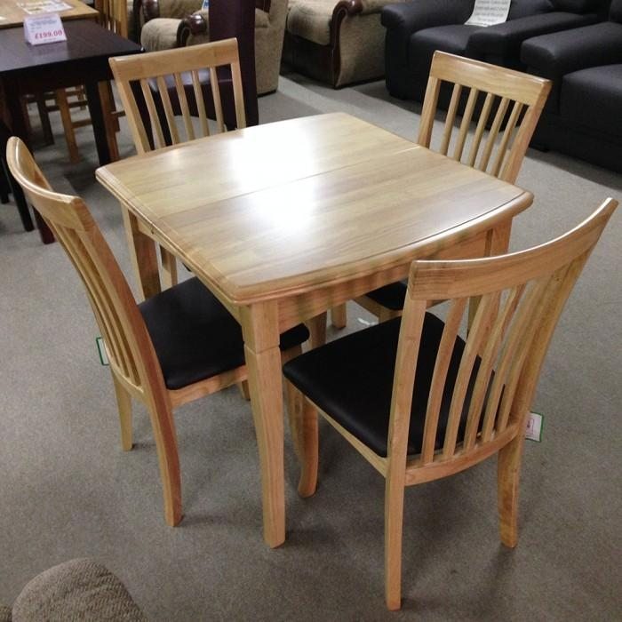 Featured Image of Extendable Dining Tables And 4 Chairs