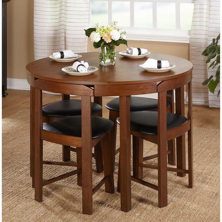 Dining Tables: Unique Small Dining Table Plans Small Dining Tables With Compact Dining Tables And Chairs (Image 11 of 20)