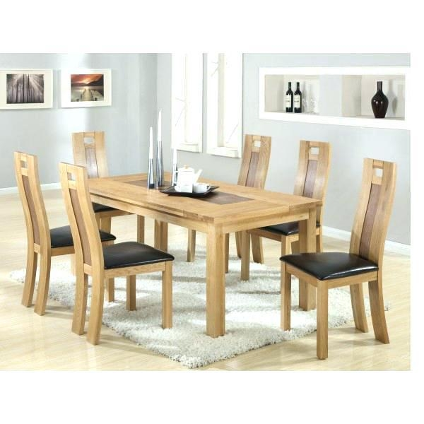 Dining Tables With 6 Chairs – Mitventures (View 16 of 20)