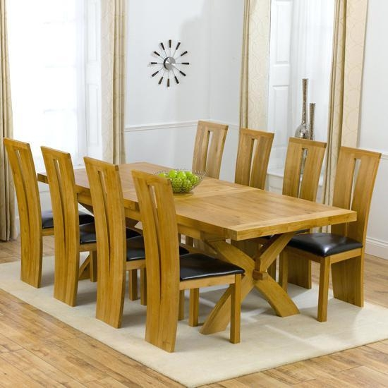 Dining Tables With 8 Chairs – Zagons (Image 11 of 20)