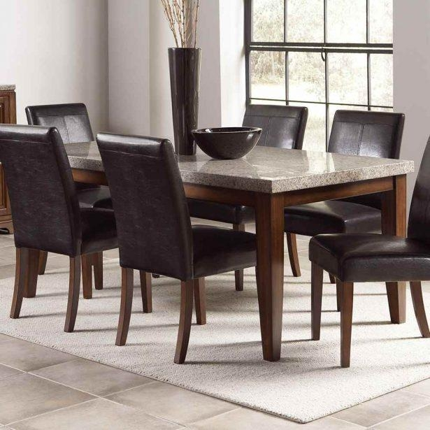 Dinning : Stone Top Dining Room Tables Dining Table Set (Image 14 of 20)
