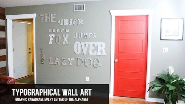Diy Faux Metal Letter Wall Art | Knock It Off! | The Live Well Network Within Decorative Metal Letters Wall Art (View 19 of 20)