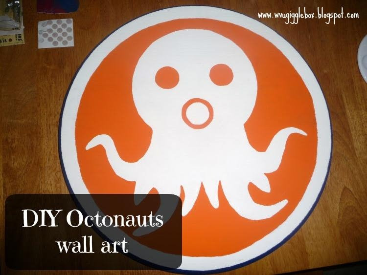 Diy Octonauts Wall Art | Gigglebox Tells It Like It Is For Octonauts Wall Art (Image 6 of 20)
