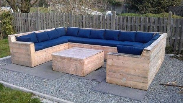 Diy Pallet Sofa Ideas And Plans | Pallet Ideas: Recycled In Pallet Sofas (Image 8 of 20)